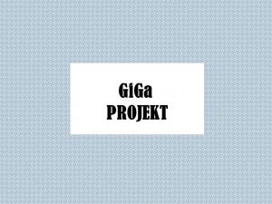 GiGa PROJEKT-POTPISAN UGOVOR